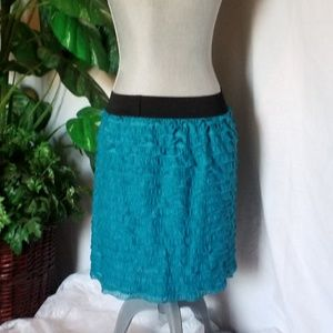 Apt 9 Ruffled Pencil Skirt  Sz S